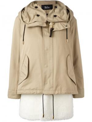 Куртка со стеганой подкладкой The Reracs. Цвет: телесный