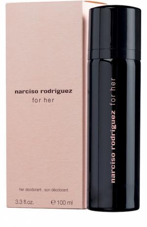 Дезодорант парфюмированный спрей For Her Narciso Rodriguez. Цвет: бесцветный