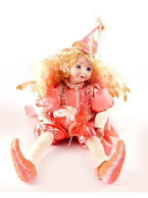 Фигурка интерьерная - кукла декоративная Эльф Русские подарки. Цвет: белый, красный