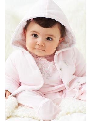 Куртка Little Me. Цвет: розовый