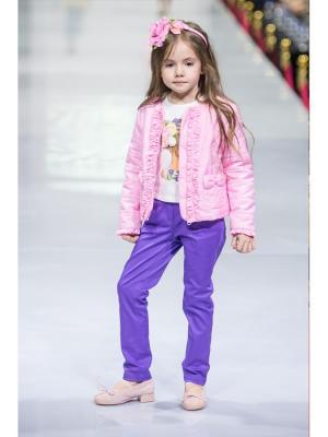 Куртка Stilnyashka. Цвет: розовый