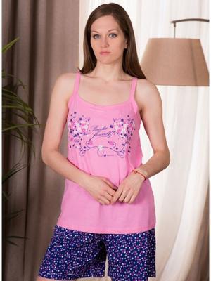 Пижама Vienetta Secret. Цвет: розовый