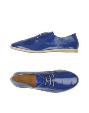 Обувь на шнурках GIORDANA F.. Цвет: синий