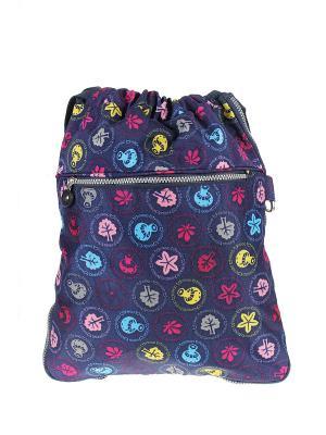 Рюкзак Happy Charms Family. Цвет: синий, голубой, розовый, желтый