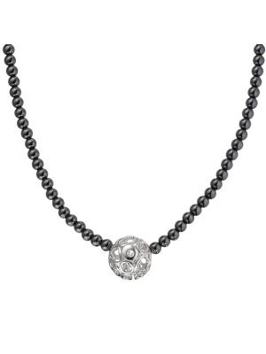 Колье HOT DIAMONDS. Цвет: серебристый