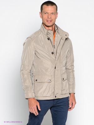 Куртка S4. Цвет: светло-бежевый