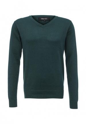 Пуловер Deblasio. Цвет: зеленый