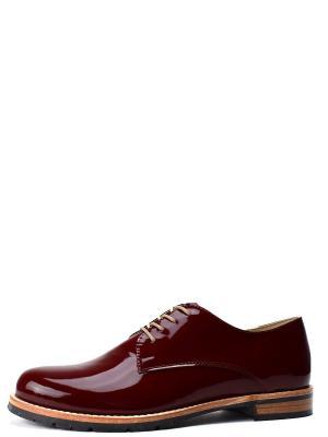 Туфли BERG. Цвет: бордовый
