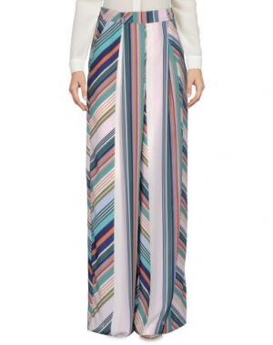 Повседневные брюки MARIAGRAZIA PANIZZI. Цвет: розовый