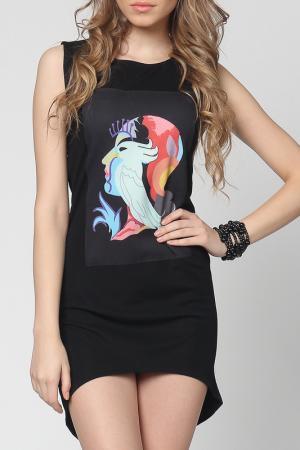 Платье EUFORIA. Цвет: черный