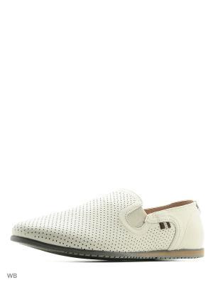 Ботинки HCS. Цвет: бежевый, белый
