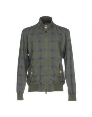 Куртка CIRCOLO 1901. Цвет: зеленый-милитари