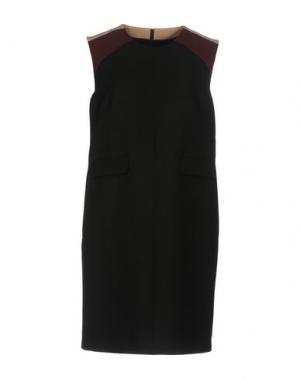 Короткое платье FABRIZIO LENZI. Цвет: черный