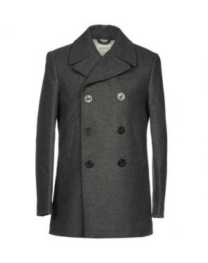Пальто CLUB MONACO. Цвет: стальной серый