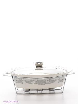 Мармит BK-7356 керамический Bekker. Цвет: белый