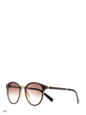 Очки солнцезащитные Pur. Цвет: коричневый