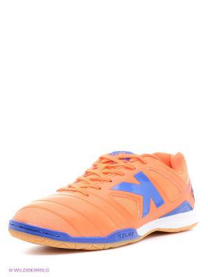 Бутсы KELME. Цвет: оранжевый