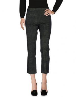 Повседневные брюки KILTIE. Цвет: темно-зеленый