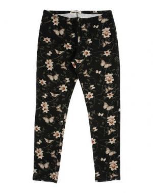 Повседневные брюки LE PETIT COCO. Цвет: темно-зеленый