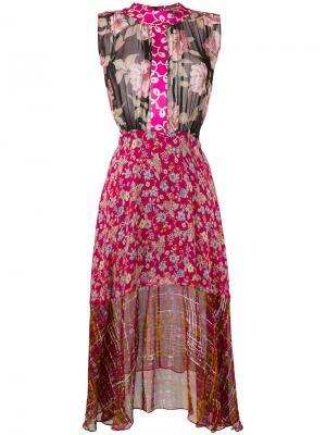 Платье с рисунками Duro Olowu. Цвет: многоцветный