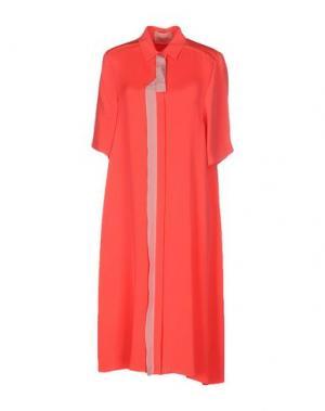Платье до колена ROKSANDA. Цвет: коралловый