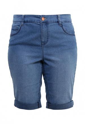 Шорты джинсовые Evans. Цвет: синий