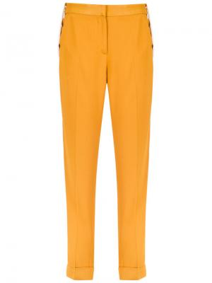 Panelled straight trousers Egrey. Цвет: жёлтый и оранжевый