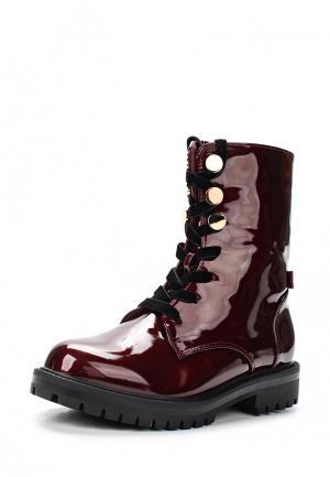 Ботинки Sweet Shoes. Цвет: бордовый