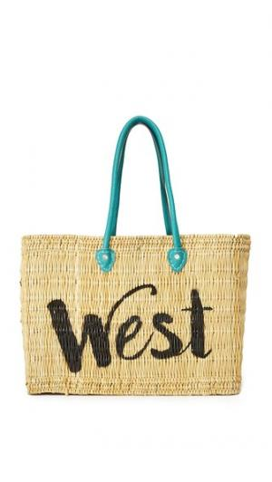 Сумка Jane Box с надписью «West» MISA