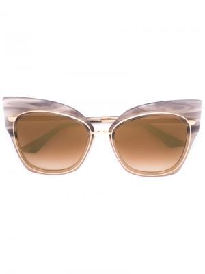 Солнцезащитные очки Stormy Dita Eyewear. Цвет: металлический