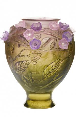 Ваза Cherry blossom Cerisier Jewels Daum. Цвет: бесцветный