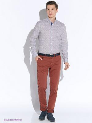 Рубашка MONDIGO. Цвет: коричневый