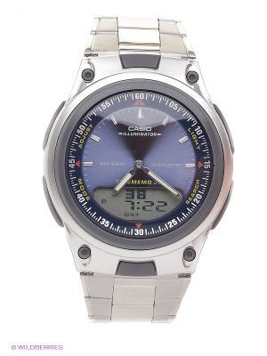 Часы Casio AW-80D-2A. Цвет: серебристый