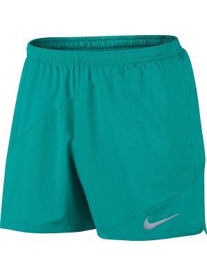 Шорты M NK FLX SHORT 5IN DISTANCE Nike. Цвет: зеленый