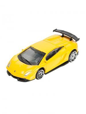 Машинка Lamborghini LP570-4 Super Trofeo Stradale, Желтая (1:64) (PS-0616615-Y) Pit Stop. Цвет: желтый
