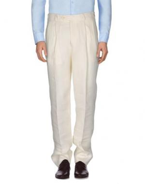 Повседневные брюки RIVER. Цвет: бежевый