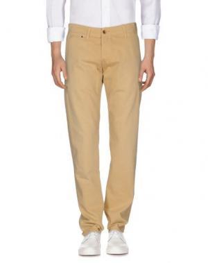 Джинсовые брюки EDWIN. Цвет: песочный
