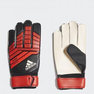 Вратарские перчатки Predator Training  Performance adidas. Цвет: красный