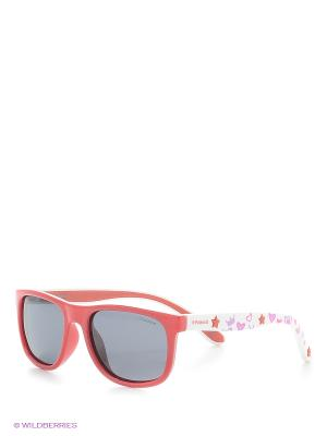 Солнцезащитные очки Polaroid. Цвет: красный