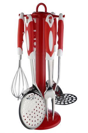 Кухонный набор 7 пр. Bekker. Цвет: красный