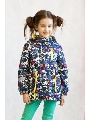 Куртка Oldos. Цвет: синий