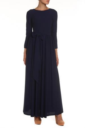 Платье-макси NATALIA PICARIELLO. Цвет: черный