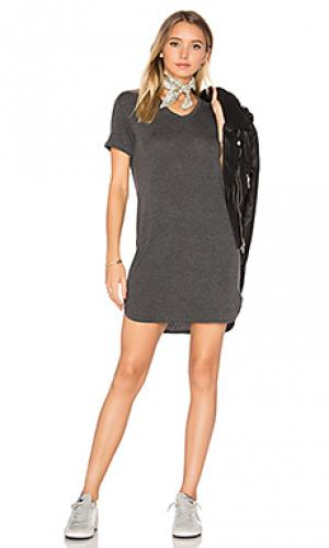 Платье roosevelt A Fine Line. Цвет: уголь