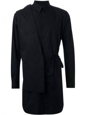Рубашка со съемным блейзером Consistence. Цвет: чёрный