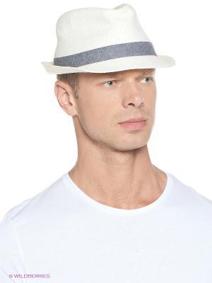 Шляпа Oodji. Цвет: молочный