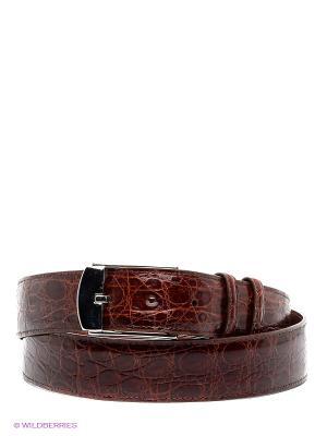 Pемень Pan American leather. Цвет: коричневый