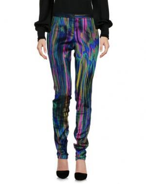 Повседневные брюки CHALAYAN. Цвет: зеленый