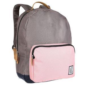 Рюкзак городской  Classic Backpack Charcoal/Pink/Midnight Blue The Pack Society. Цвет: черный,серый,розовый