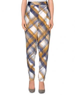 Повседневные брюки VAPOFORNO MILANO. Цвет: охра