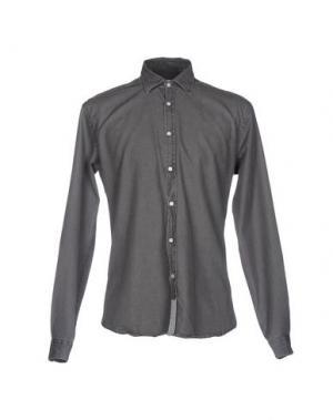 Джинсовая рубашка MACCHIA J. Цвет: серый